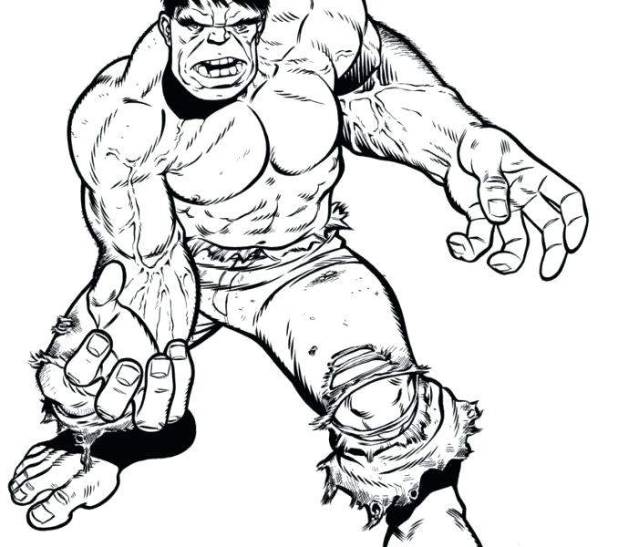 678x600 Incredible Hulk Coloring Pages Incredible Hulk Coloring Pages Free