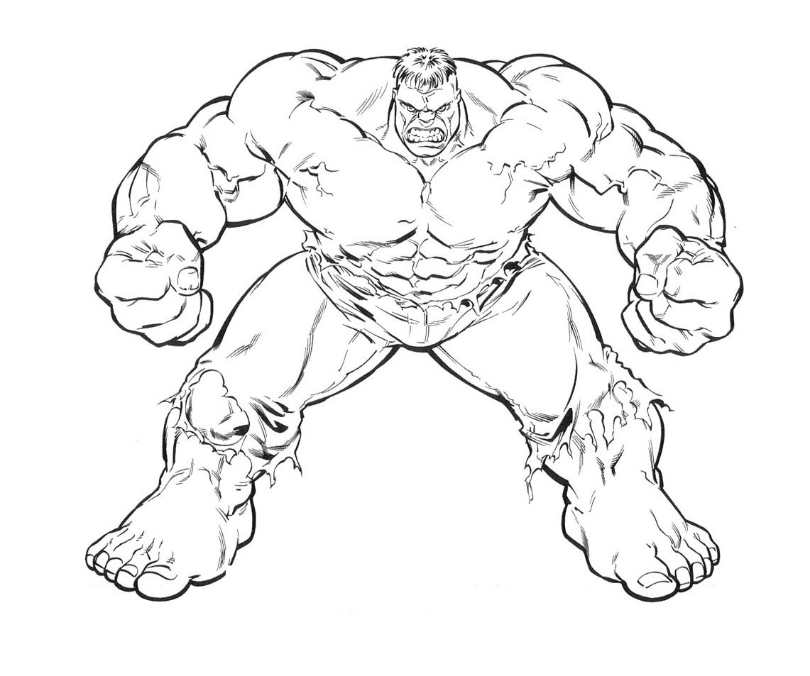 1141x953 Incredible Hulk Coloring Pages Printable