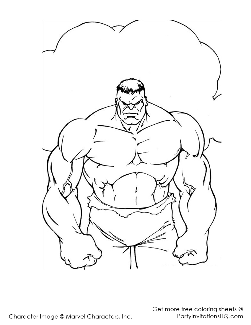 850x1100 Professional She Hulk Coloring Pages Free