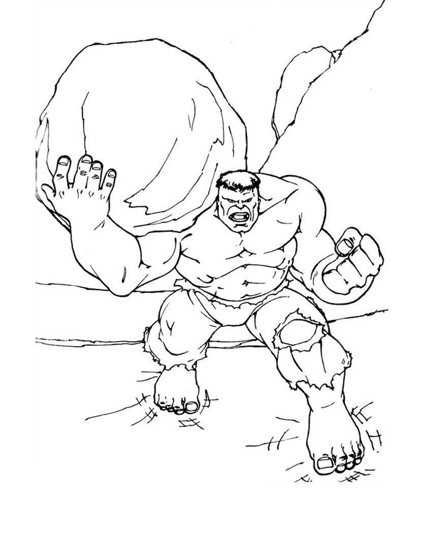 850x1100 The Truth About Incredible Hulk Coloring Pages To Print