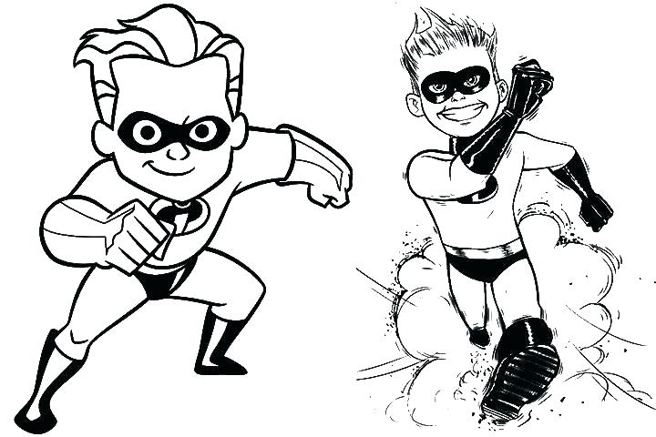 720x480 Incredibles Coloring Page The Coloring Pages Coloring Page X