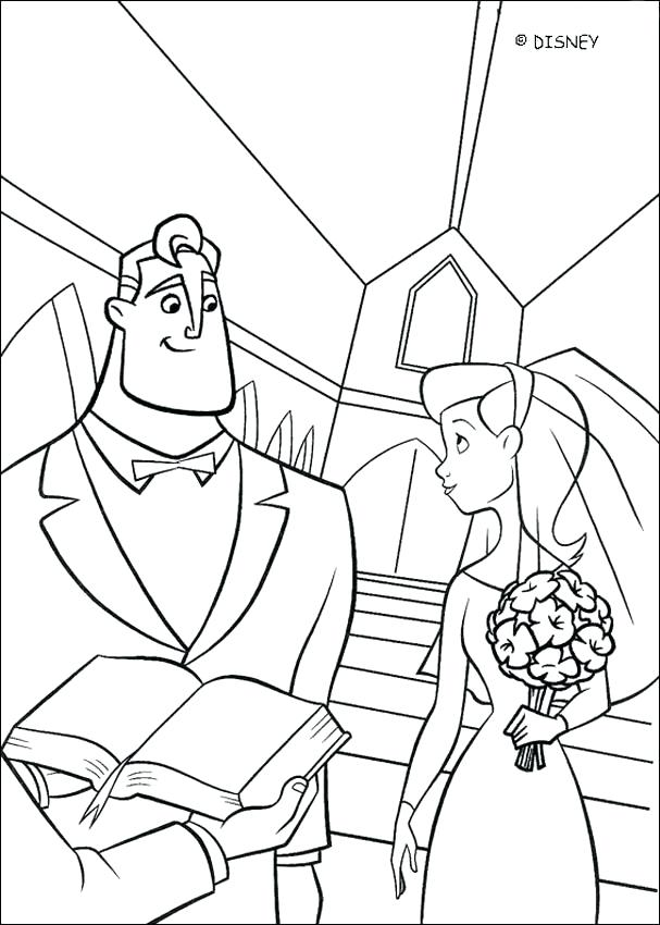 607x850 Incredibles Coloring Page Coloring Page Coloring Pages
