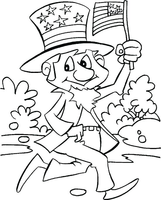 551x683 Independence Day Coloring Pages Celebrating Independence Day