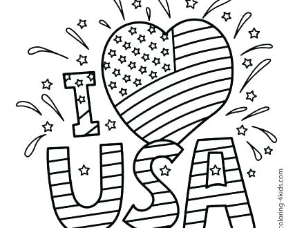 440x330 Independence Day Coloring Pages Related Posts Veterans Day Mexican