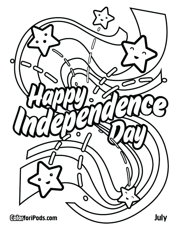 612x792 Independence Day Coloring Pi Day Colouring Pages Independence Day