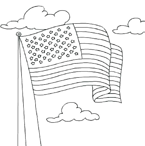 600x603 Independence Day Coloring Pages Independence Day Coloring