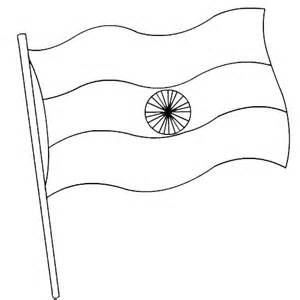 300x300 India Flag Coloring Pages And Pictures To Color