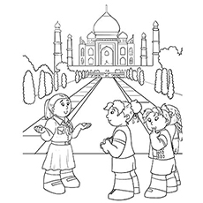 230x230 Top Free Printable India Coloring Pages Online
