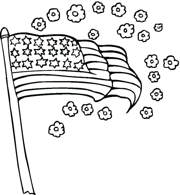 600x649 Flag Coloring Page Flag Coloring Page N National Flag Flag