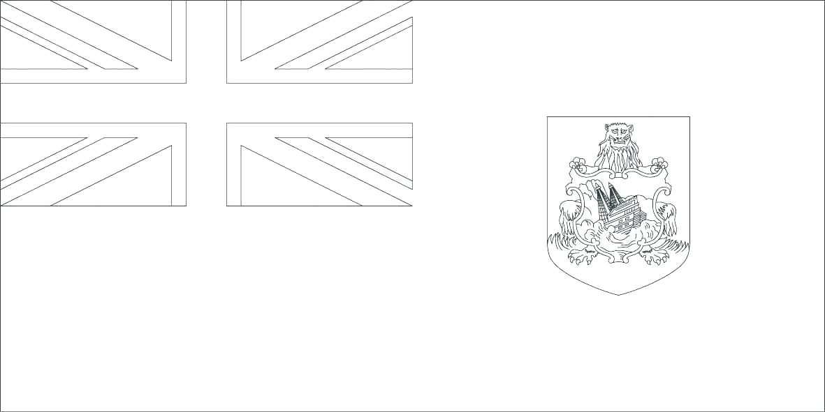 1181x591 Flag Coloring Page Sheet Coloring Collection Flag Coloring Page