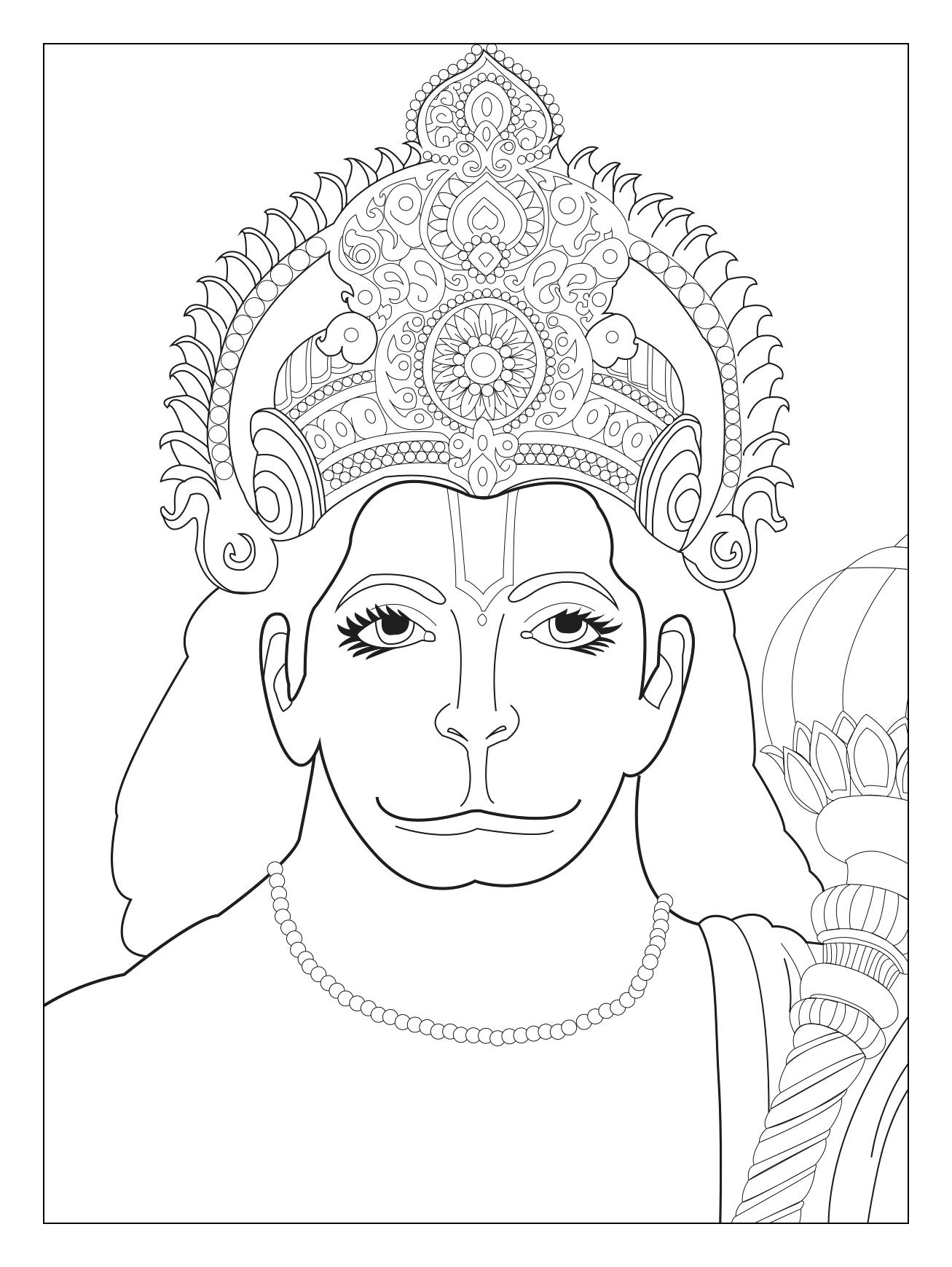 1307x1739 Coloring Page India Coloring Pages Little Indian Girl Page India