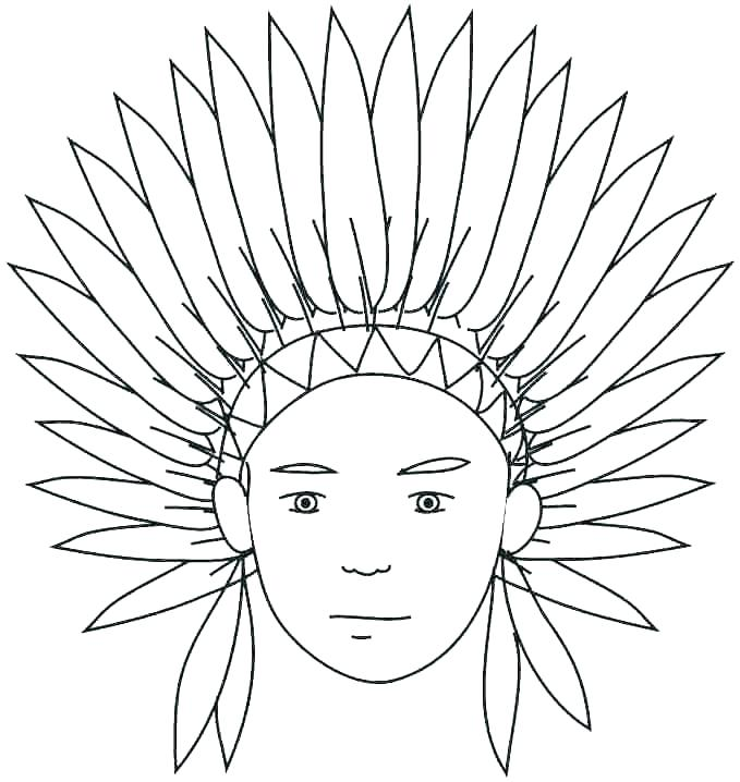 679x718 Pilgrim And Indian Coloring Pages Native Coloring Pages Best