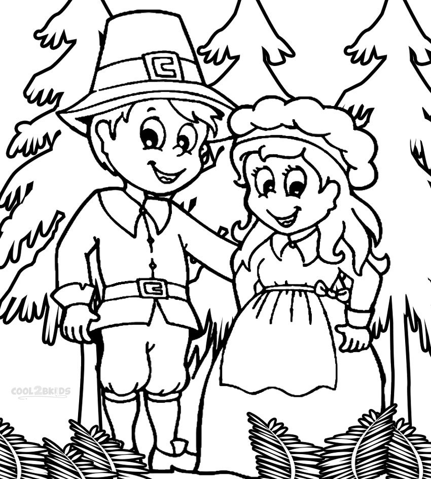 850x944 Pilgrim Coloring Pages