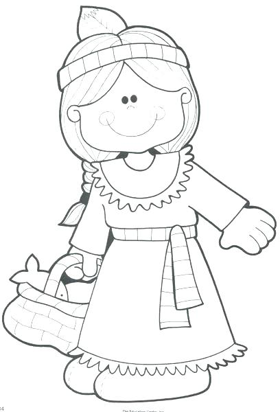 408x600 Indian Coloring Pages Printables Printable And Pilgrim Coloring