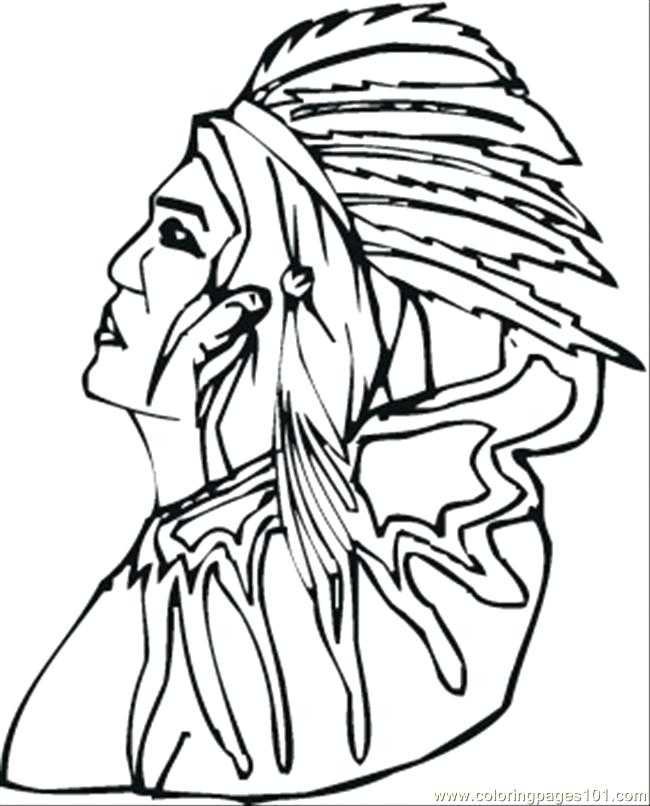 650x806 Indian Coloring Pages Old Red Coloring Page Indian Coloring Sheets