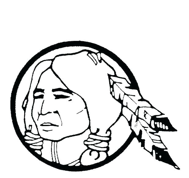 618x583 Indian Coloring Pages Logo Coloring Page Free Indian Coloring