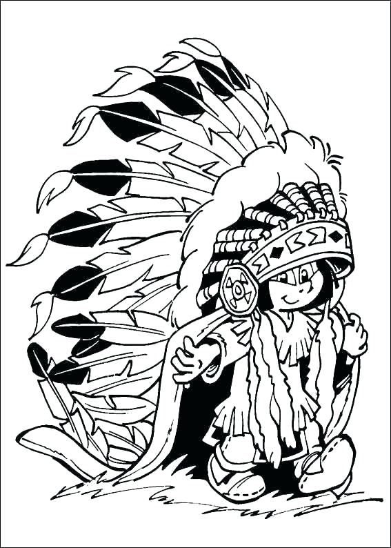 567x794 Indian Coloring Pages Printables Native Coloring Pages Free Book