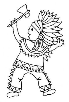 236x347 Indians Coloring Pages Flannel Board Stories Craft