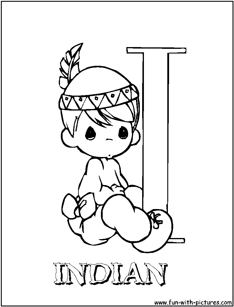 800x1050 Skill Precious Moments Indian Coloring Pages I