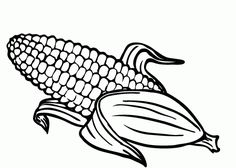 236x168 Indian Symbols For Preschoolers Indian Corn Coloring Page