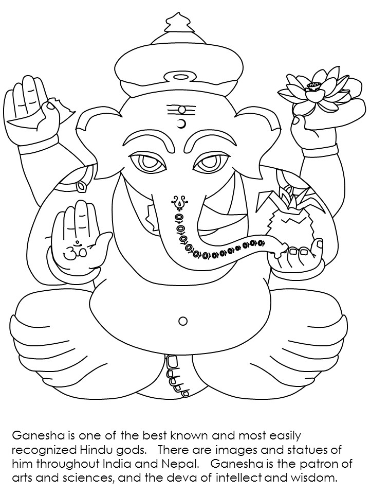 720x960 India Coloring Pages Printables