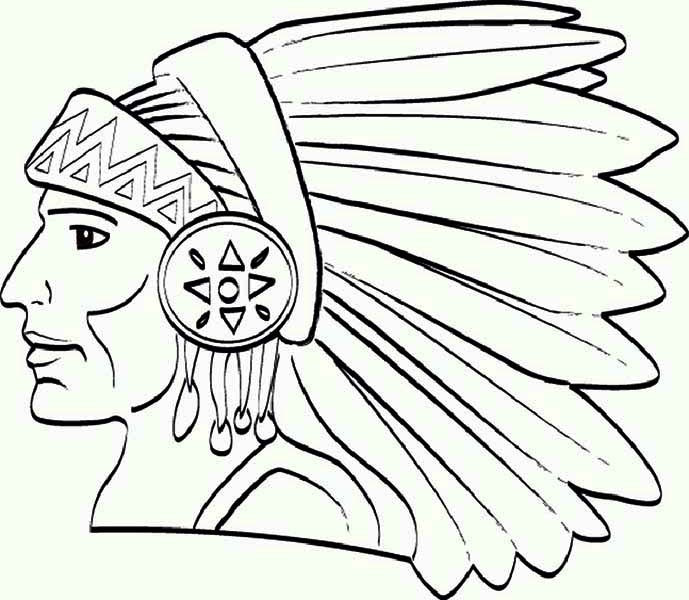 689x600 Indian Feathers Coloring Pages Beautiful Fascinating Native