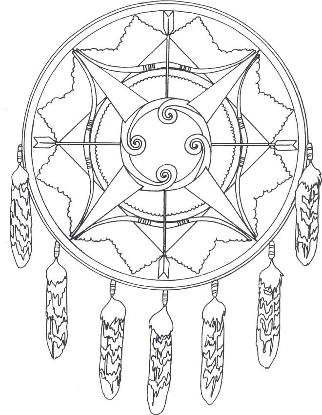 660x851 Native American Coloring Pages Printable Feathers Dimensions