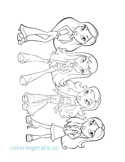 500x646 Cute Girl Coloring Pages Cute Girl Coloring Pages Cute Girl