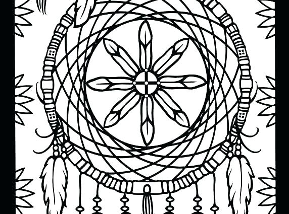 572x425 Free Native American Indian Coloring Pages Printable Warrior