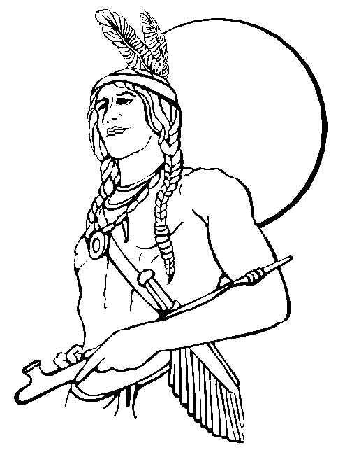 494x653 Iroquois Coloring Pages Native American Free Printable Coloring