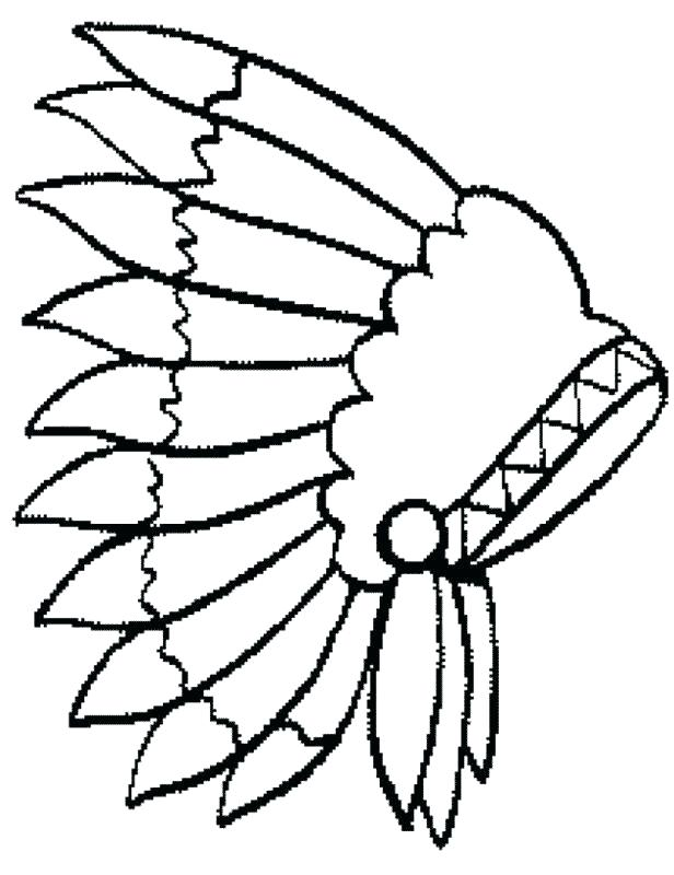 616x800 American Indian Coloring Pages Native Warrior Coloring Page Kids