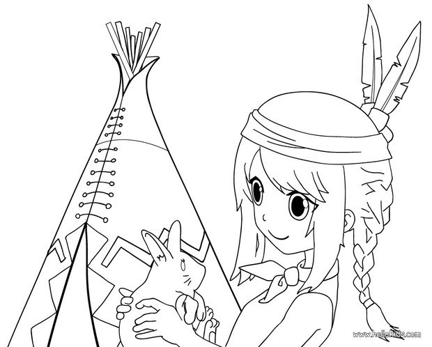 620x498 Indian Girl Coloring Pages