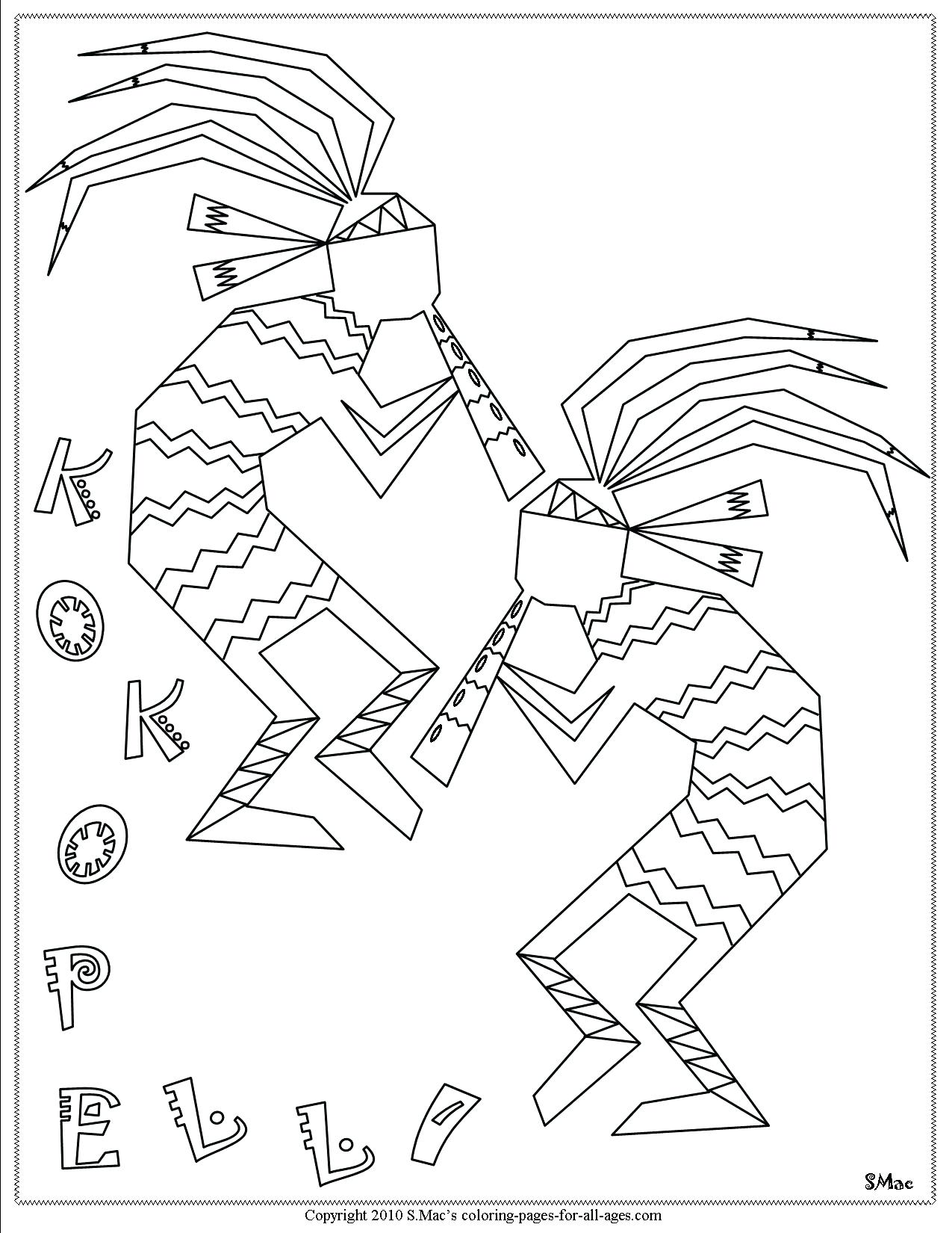 1275x1650 Best Of Free Coloring Page Coloring Adult Native Indian American