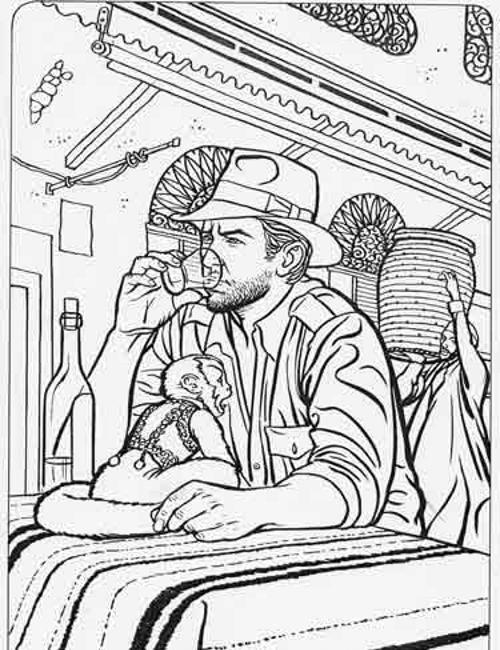 500x650 Indiana Jones Coloring Pages Free Free Adult Coloring Pages