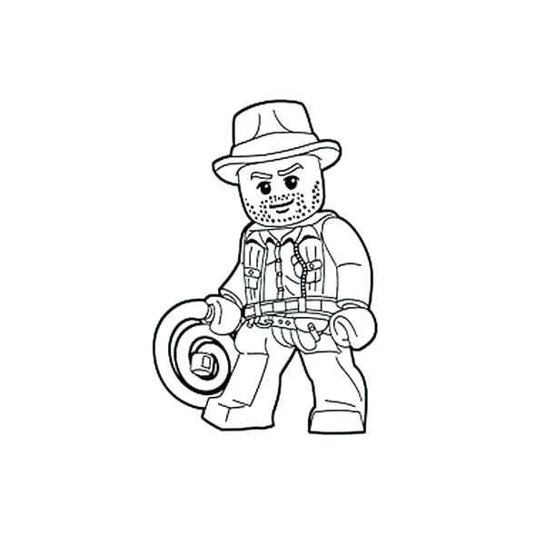600x600 Lego Indiana Jones Coloring Pages