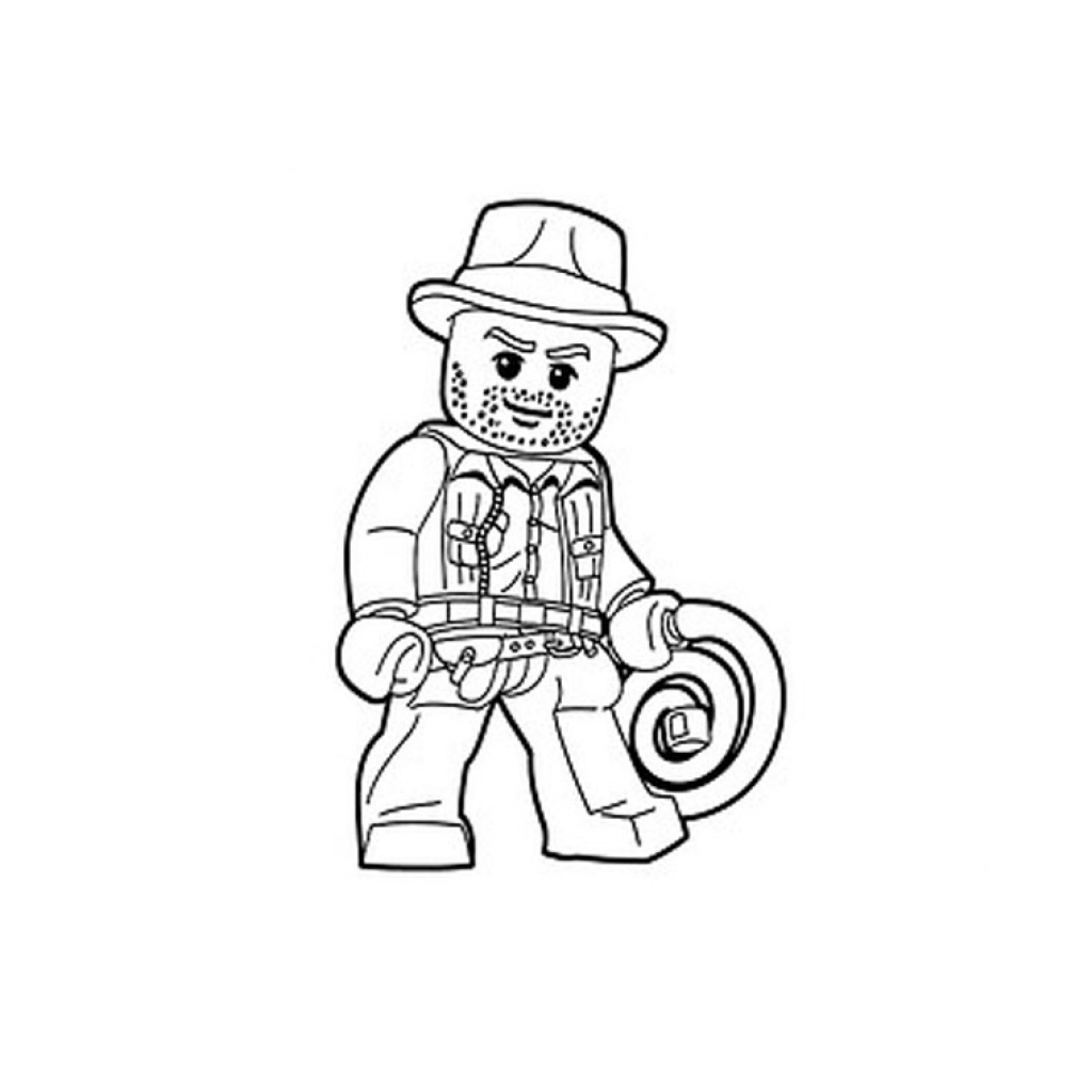 1024x1024 Lego Indiana Jones Coloring Pages Free Coloring For Kids