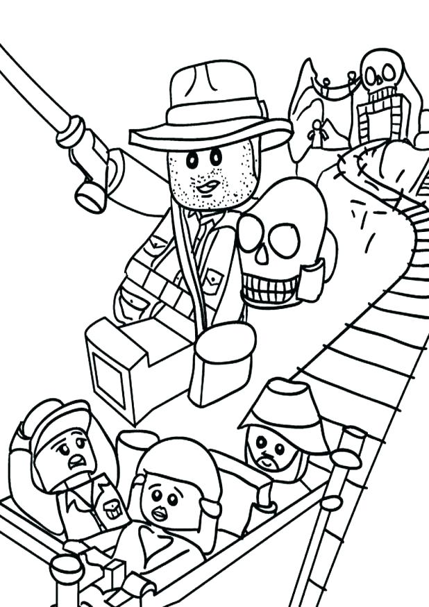 618x874 Indiana Jones Coloring Pages