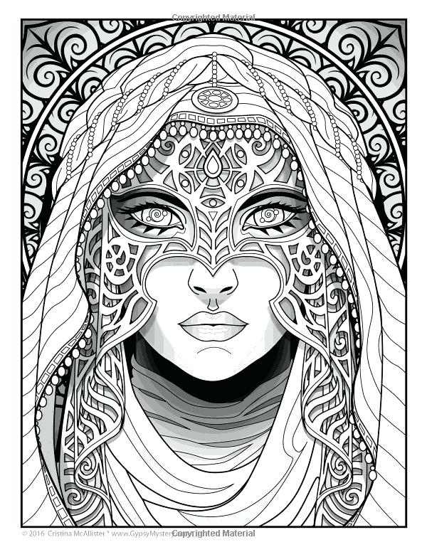 600x776 Indie Coloring Pages Magical Beauties A Captivating Coloring Book