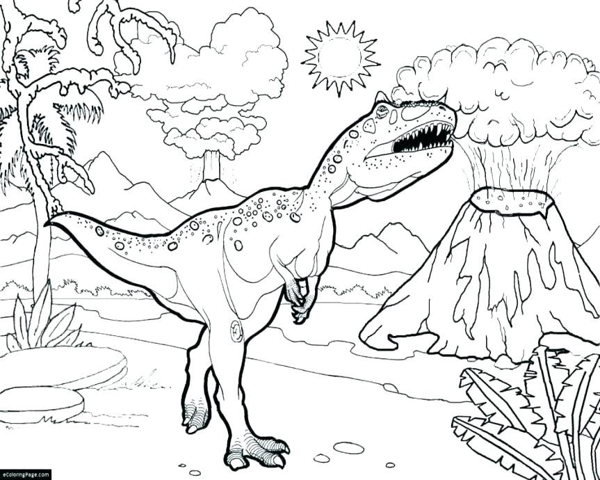 863x690 Indominus Rex Coloring Page Also Related Post Jurassic World