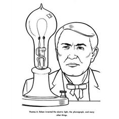 236x236 This Site Has Printable Coloring Pages For Important Inventors
