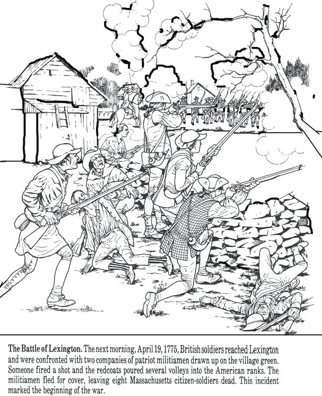 650x800 American Revolution Coloring Pages Revolution Coloring Pages