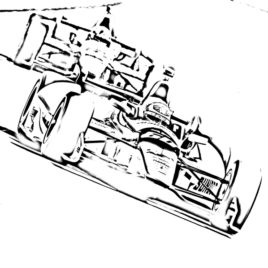 268x268 Indy Car Coloring Page Archives