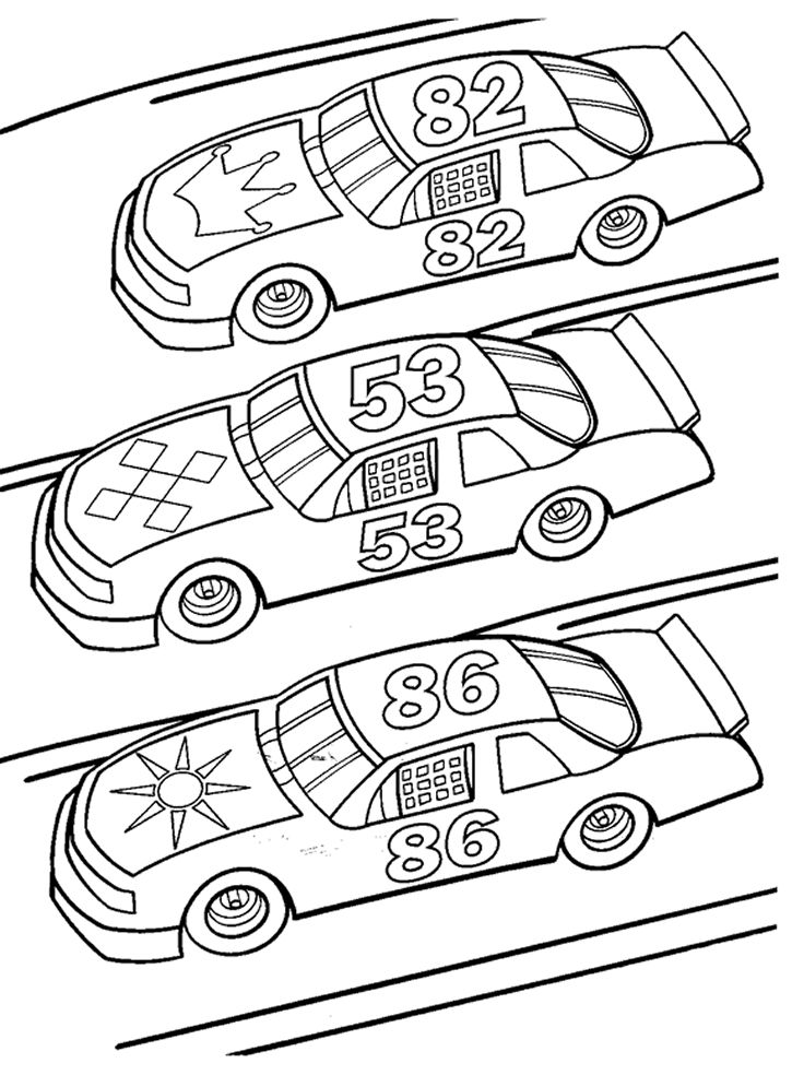 725x984 Race Car Coloring Pages And Book Uniquecoloringpages X