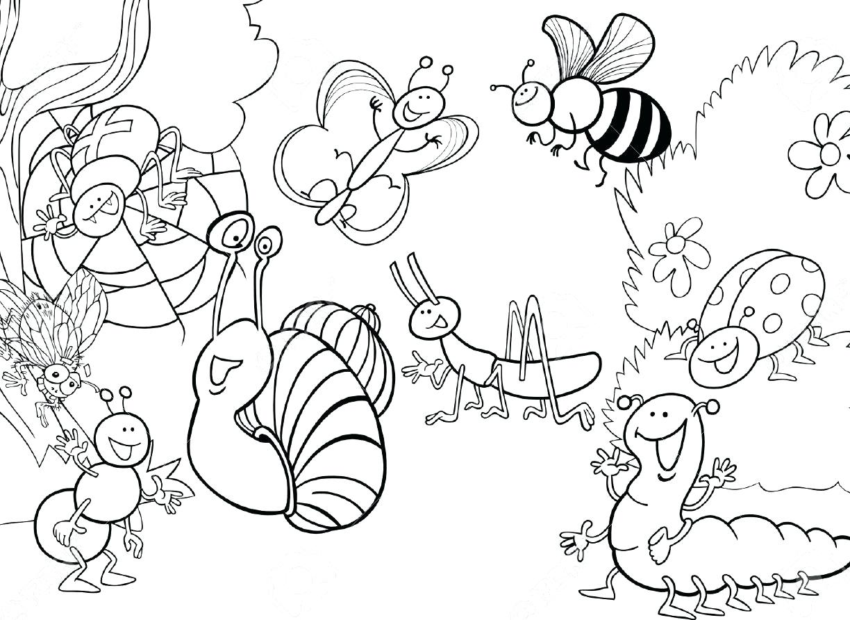 1224x892 Coloring Pages Bug Coloring Pages Free I For Insects Insect
