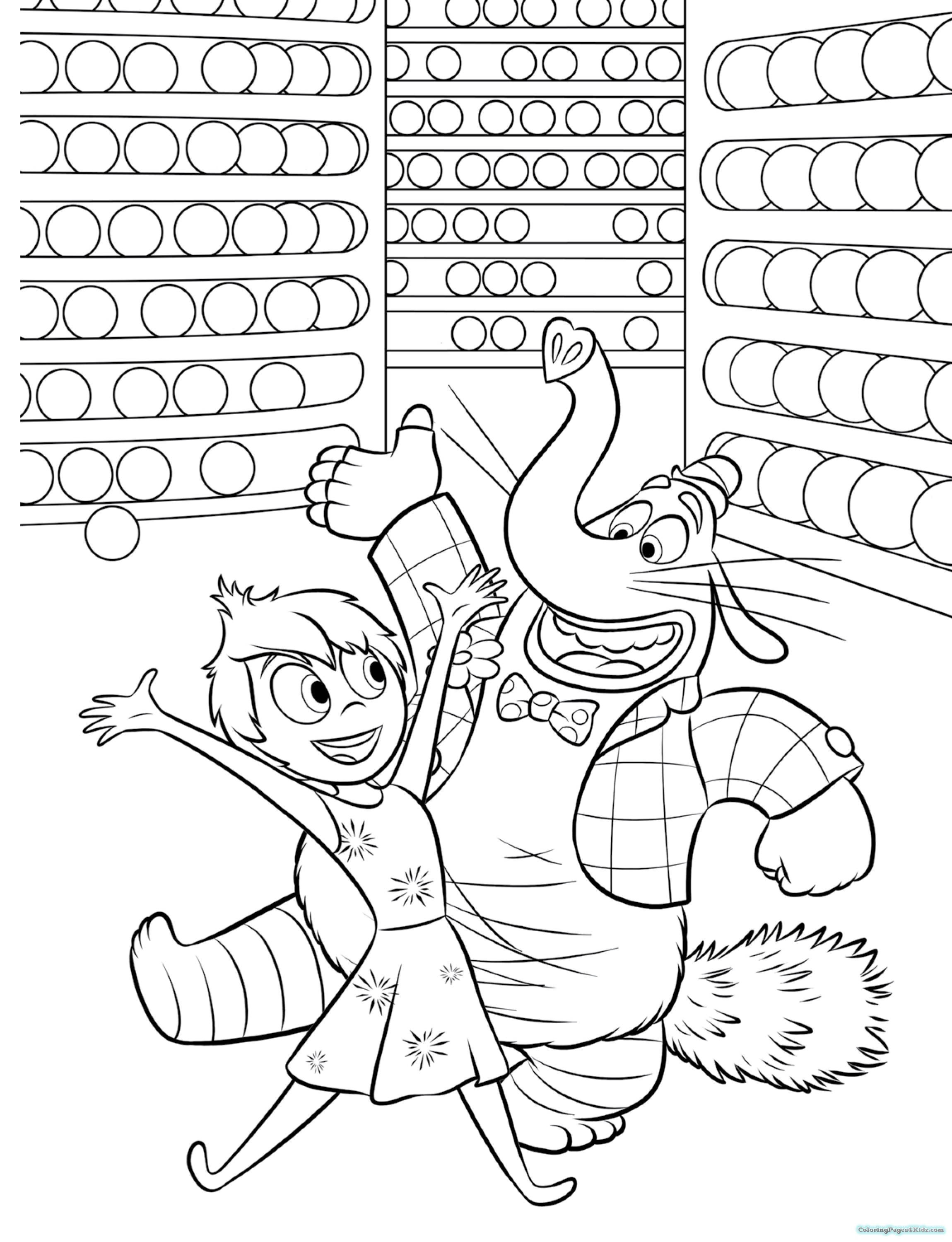 2299x2998 Inside Out Coloring Pages Di Coloring Pages For Kids