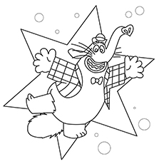230x230 Adorable Inside Out Coloring Pages For Your Little One