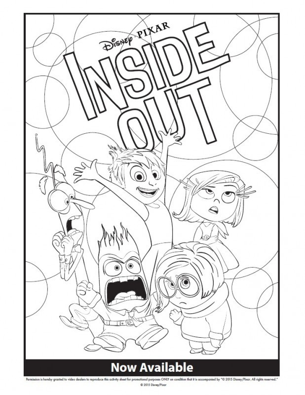 618x800 Inside Out Sadness Coloring Page Fresh Inside Out Disgust Drawing