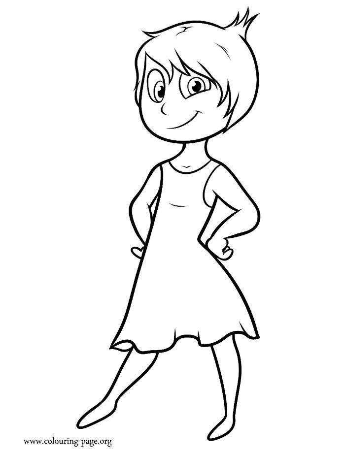 700x922 Coloring Pages For Girls Disney Inside Out Joy And Bing Free