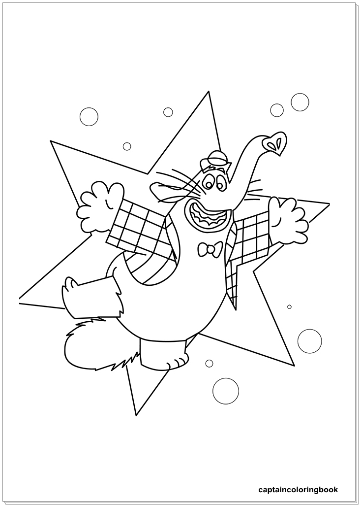 734x1029 Inside Out Coloring Pages Fritz, Fear, Bing Bong, Joy, Disgust
