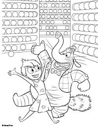 200x259 Free Printable Inside Out Coloring Pages